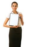 Επιχειρηματίας με το φάκελλο Στοκ φωτογραφία με δικαίωμα ελεύθερης χρήσης
