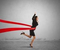 Επιχειρηματίας νικητών στοκ εικόνες με δικαίωμα ελεύθερης χρήσης
