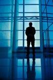 επιχειρηματίας οπισθο&sigma Στοκ φωτογραφία με δικαίωμα ελεύθερης χρήσης