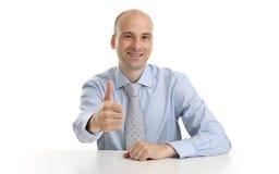 επιχειρηματίας ο εμφανίζ&o Στοκ Φωτογραφίες