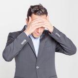 Επιχειρηματίας που έχει την απόλυση στοκ εικόνα με δικαίωμα ελεύθερης χρήσης