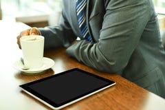 Επιχειρηματίας που έχει τον καφέ Στοκ εικόνα με δικαίωμα ελεύθερης χρήσης