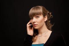 Επιχειρηματίας που καλεί τηλεφωνικώς Στοκ Φωτογραφία