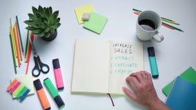 Επιχειρηματίας που σκέφτεται πώς να αυξήσει τις πωλήσεις φιλμ μικρού μήκους