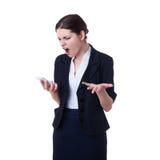 επιχειρηματίας που στέκεται πέρα από απομονωμένο το λευκό υπόβαθροη Στοκ εικόνα με δικαίωμα ελεύθερης χρήσης