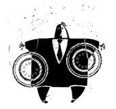 Επιχειρηματίας που σφραγίζεται Διανυσματική απεικόνιση