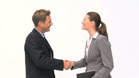 Επιχειρηματίας που φεύγει μετά από έναν διορισμό απόθεμα βίντεο