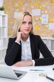 Επιχειρηματίας στην εργασία Στοκ φωτογραφίες με δικαίωμα ελεύθερης χρήσης