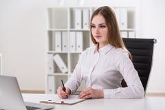 Επιχειρηματίας στην εργασία Στοκ εικόνα με δικαίωμα ελεύθερης χρήσης