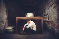 Επιχειρηματίας στην οδό Στοκ φωτογραφία με δικαίωμα ελεύθερης χρήσης