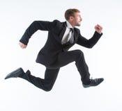 Επιχειρηματίας στη βιασύνη στοκ εικόνα με δικαίωμα ελεύθερης χρήσης
