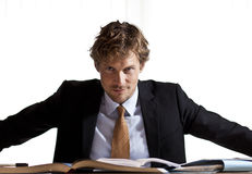 Επιχειρηματίας στον έλεγχο Στοκ εικόνες με δικαίωμα ελεύθερης χρήσης