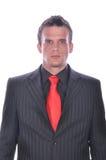 Επιχειρηματίας στο κομψό κοστούμι Στοκ φωτογραφία με δικαίωμα ελεύθερης χρήσης