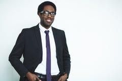 Επιχειρηματίας στο κοστούμι Στοκ εικόνα με δικαίωμα ελεύθερης χρήσης