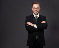 Επιχειρηματίας στο στούντιο Στοκ Εικόνα