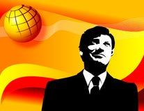 επιχειρηματίας σφαιρικό&sig ελεύθερη απεικόνιση δικαιώματος