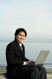 επιχειρηματίας υπαίθριος Στοκ φωτογραφίες με δικαίωμα ελεύθερης χρήσης