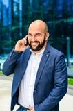 επιχειρηματίας υπαίθριο Στοκ Φωτογραφία