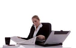 Επιχειρηματίας. στοκ εικόνα