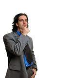 επιχειρηματίας 4 που απομ στοκ εικόνα
