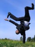 επιχειρηματίας frieze που κάν&epsil στοκ φωτογραφία με δικαίωμα ελεύθερης χρήσης