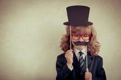 Επιχειρηματίας Hipster Στοκ Εικόνες