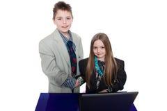 επιχειρηματίες μικροί στοκ φωτογραφία με δικαίωμα ελεύθερης χρήσης