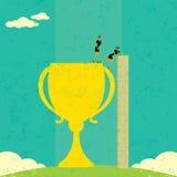 Επιχειρηματίες που αξιολογούν την επιτυχία απεικόνιση αποθεμάτων