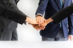 Επιχειρηματίες που συναντούν την ομαδική εργασία επιτυχίας στοκ φωτογραφία με δικαίωμα ελεύθερης χρήσης