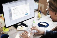 Επιχειρηματίες που ψάχνουν την έννοια εργασίας ξεφυλλίσματος Στοκ Φωτογραφίες
