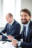 Επιχειρηματίες στην εργασία Στοκ Εικόνα