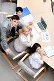 Επιχειρηματίες στη συνεδρίαση των ομάδων Στοκ Εικόνες