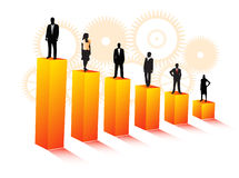 επιχειρηματίες διανυσματική απεικόνιση