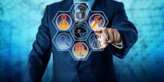 Επιχειρηματικός πελάτης που ενεργοποιεί τις διοικούμενες υπηρεσίες