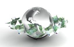 επιχειρηματικό πεδίο παγκόσμιο Στοκ εικόνα με δικαίωμα ελεύθερης χρήσης