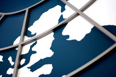 επιχειρηματικό πεδίο παγκόσμιο Στοκ φωτογραφίες με δικαίωμα ελεύθερης χρήσης