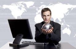 επιχειρηματικό πεδίο exec παγκόσμιο στοκ εικόνες