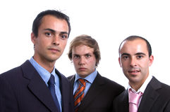 επιχειρησιακά άτομα τρία Στοκ Φωτογραφία