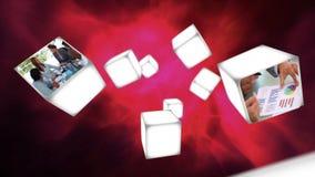 Επιχειρησιακά βίντεο στη μετατόπιση κύβων φιλμ μικρού μήκους