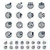 Επιχειρησιακά εικονίδια Στοκ φωτογραφία με δικαίωμα ελεύθερης χρήσης