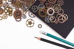 Επιχειρησιακά εργαλεία και έννοια επιχειρησιακής επιτυχίας Στοκ Εικόνα