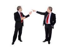 επιχειρησιακά συζητώντα&si στοκ εικόνα με δικαίωμα ελεύθερης χρήσης