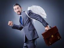 επιχειρησιακά χρήματα αγγέλου Στοκ φωτογραφία με δικαίωμα ελεύθερης χρήσης