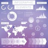 Επιχειρησιακά infographic στοιχεία Στοκ Εικόνες