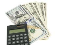 Επιχειρησιακές έννοιες. χρήματα με τον υπολογιστή Στοκ φωτογραφίες με δικαίωμα ελεύθερης χρήσης