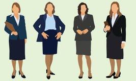 Επιχειρησιακές γυναίκες απεικόνιση αποθεμάτων