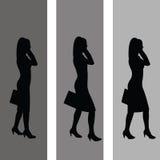 επιχειρησιακές γυναίκε Στοκ εικόνα με δικαίωμα ελεύθερης χρήσης