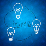 επιχειρησιακές ιδέες ε&pi Στοκ Φωτογραφία