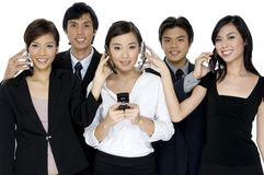 Επιχειρησιακές κλήσεις Στοκ εικόνα με δικαίωμα ελεύθερης χρήσης
