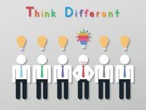 Επιχειρησιακή έννοια ηγεσίας ιδέας Στοκ εικόνα με δικαίωμα ελεύθερης χρήσης
